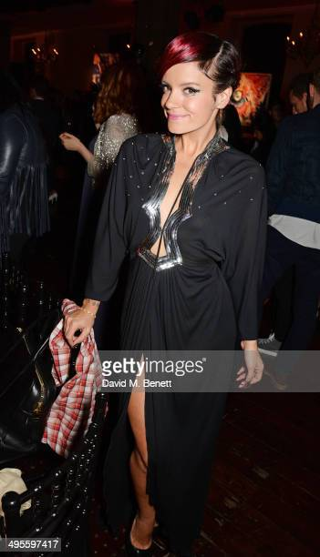 Lily Allen attends The Other Ball in aid of Arms Around The Child at One Mayfair on June 4 2014 in London England