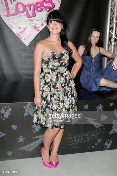 Lily Allen during Lily Allen and New Look 'Lily Loves' Clothing Range Launch Party at New Look Oxford Street in London Great Britain