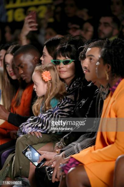 Lily Allen during London Fashion Week February 2019 on February 16 2019 in London England