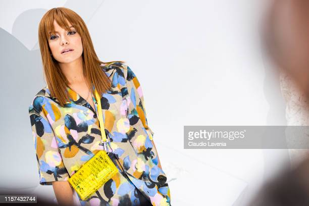 Lily Allen is seen during the Dior Homme Menswear Spring Summer 2020 show on June 21 2019 in Paris France
