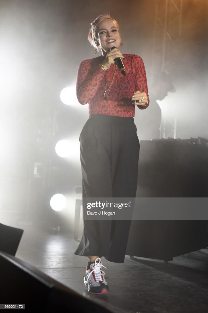 Lily Allen Performs At The Dome