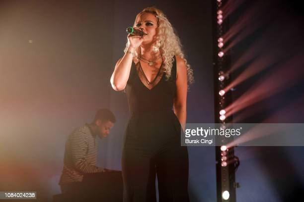 Lily Allen performs at The Roundhouse on December 17 2018 in London England