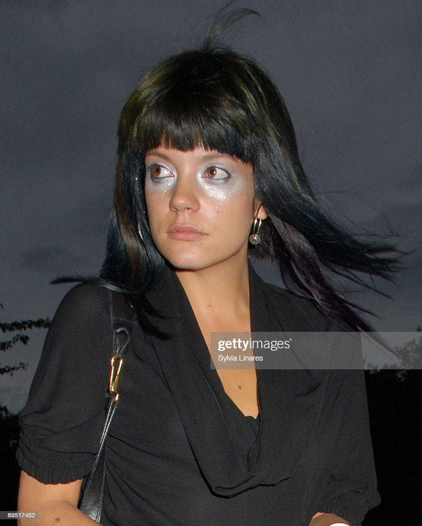 Lily Allen sighted on July 29, 2009 in London, England.
