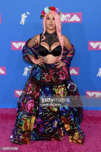 Lily Barrios attends the 2018 MTV Video Music Awards at Radio City Music Hall on August 20, 2018 in New York City.