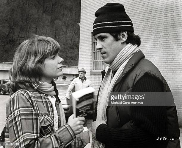 Lily Braden and Ned Braden play constantly sparring spouses during the movie Slap Shot in 1977