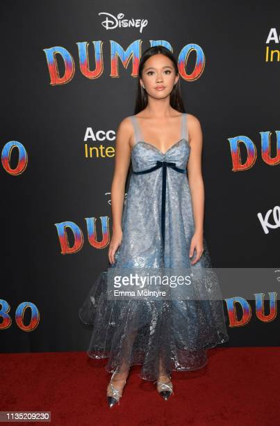Lily Chee attends the premiere of Disney's Dumbo at El Capitan Theatre on March 11 2019 in Los Angeles California