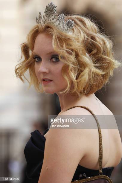 Lily Cole arrives at a special 'Celebration of the Arts' event at the Royal Academy of Arts on May 23 2012 in London England