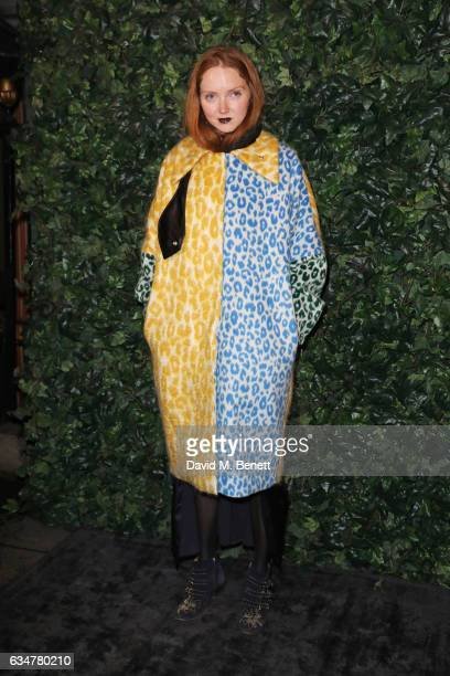Lily Cole attends a preBAFTA party hosted by Charles Finch and Chanel at Annabel's on February 11 2017 in London England