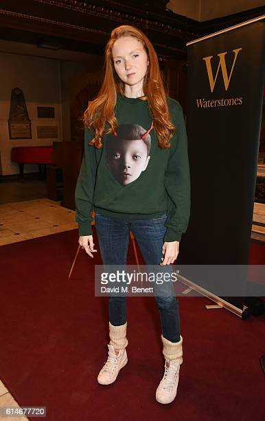 Lily Cole attends An Evening With Vivienne Westwood discussing her new book 'Get A Life The Diaries Of Vivienne Westwood' at St James' Church on...