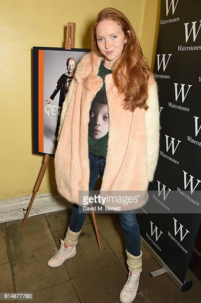 Lily Cole attends An Evening With Vivienne Westwood discussing her new book Get A Life The Diaries Of Vivienne Westwood at St James' Church on...