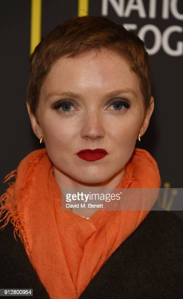 Lily Cole attends National Geographic's 'An Evening Of Exploration' celebrating 130 years of National Geographic at The Natural History Museum on...