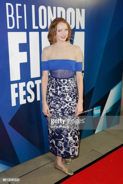Lily Cole attends the 61st BFI London Film Festival Awards on October 14, 2017 in London, England.
