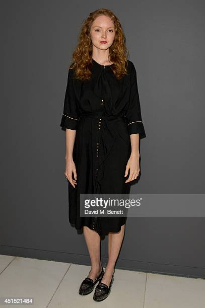 Lily Cole attends the Design Museum's 'Designs Of The Year Awards 2014' at the St Martins Lane Hotel on June 30 2014 in London England