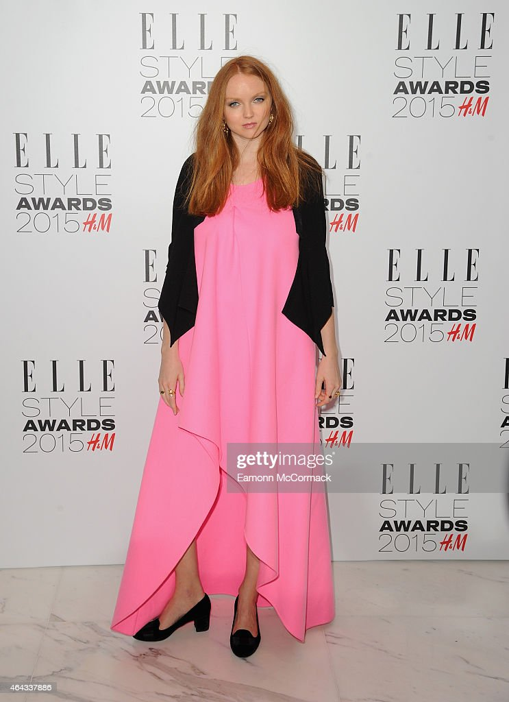 Lily Cole attends the Elle Style Awards 2015 at Sky Garden @ The Walkie Talkie Tower on February 24, 2015 in London, England.