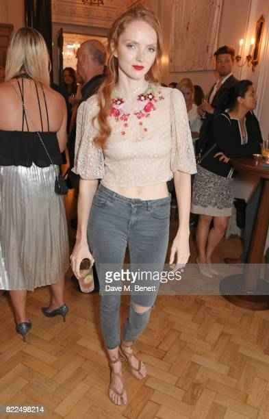 Lily Cole attends the Kindle Storyteller Award ceremony 2017 recognising newly published work in the English language across any genre selected by a...