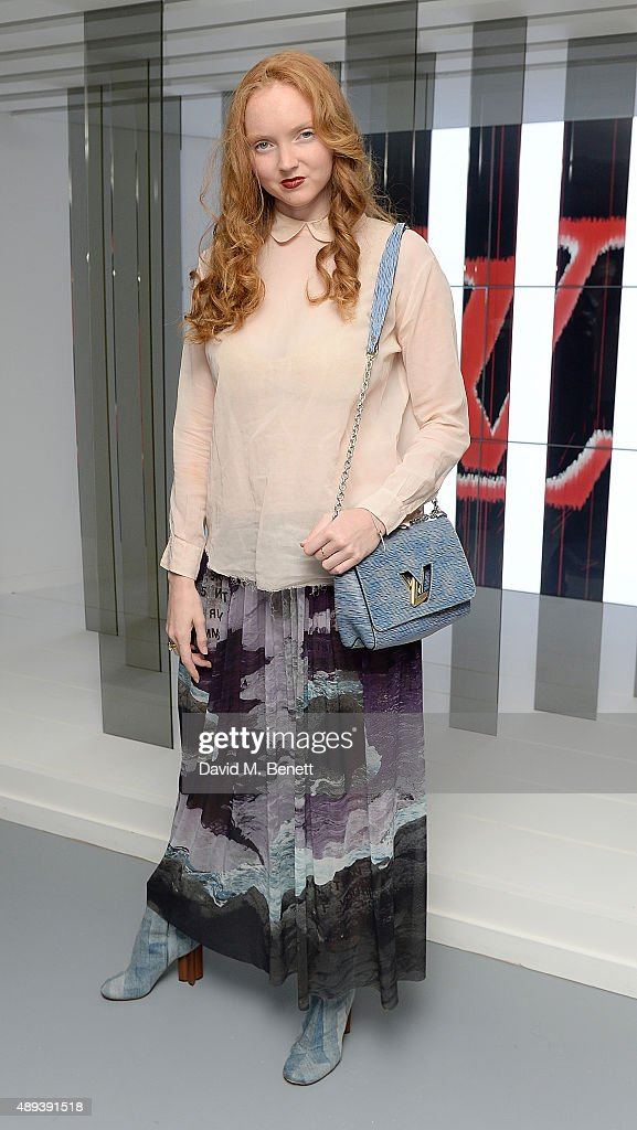 Lily Cole attends the Louis Vuitton Series 3 VIP launch during London Fashion Week SS16 on September 20, 2015 in London, England.