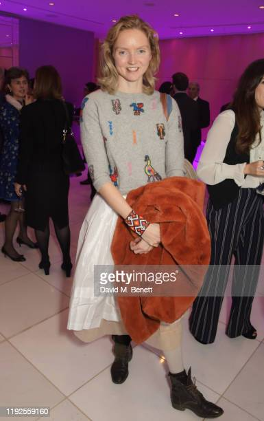 "Lily Cole attends the press night pre-show drinks reception for the English National Ballet's ""Le Corsaire"" at St Martins Lane on January 8, 2020 in..."