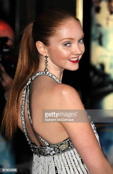 Lily Cole attends the UK Premiere of 'The Imaginarium Of Doctor Parnassus' at Empire Leicester Square on October 6, 2009 in London, England.