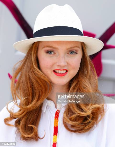 Lily Cole attends the VIP preview day of The Chelsea Flower Show at The Royal Hospital Chelsea on May 19, 2014 in London, England.