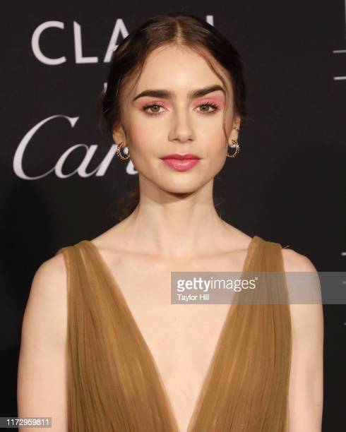 Lily Collins attends the 2019 Harper ICONS Party at The Plaza Hotel on September 06 2019 in New York City
