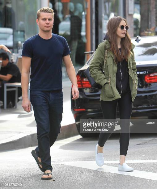 Lily Collins is seen on November 13 2018 in Los Angeles CA