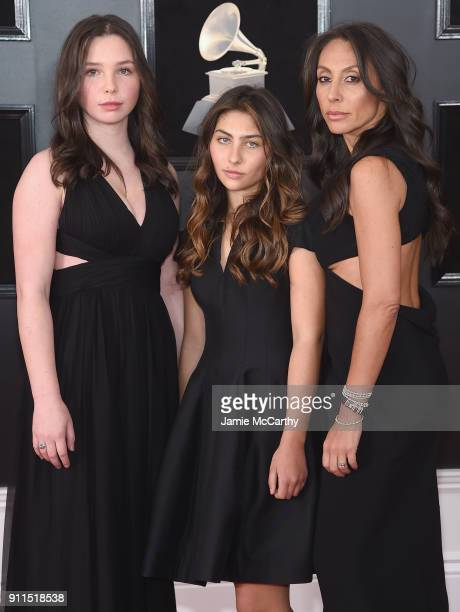 Lily Cornell Toni Cornell and Vicky Cornell attend the 60th Annual GRAMMY Awards at Madison Square Garden on January 28 2018 in New York City