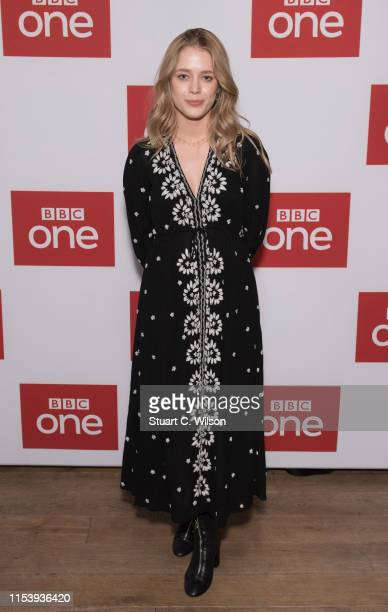 Lily Dodsworth Evans attends the series premiere followed by a QA session for Poldark at BFI Southbank on June 05 2019 in London England