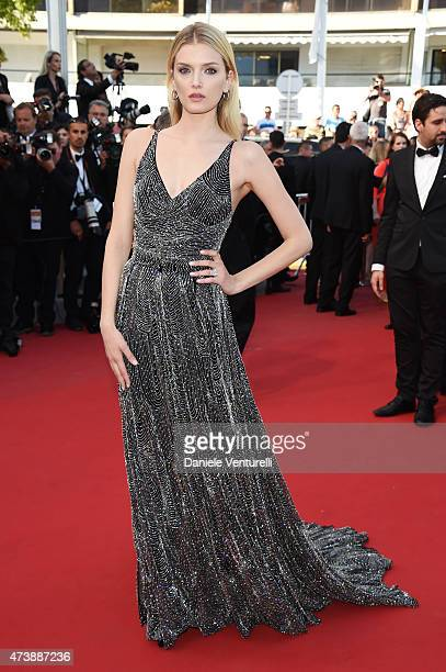 Lily Donaldson attends the 'Inside Out' Premiere during the 68th annual Cannes Film Festival on May 18 2015 in Cannes France