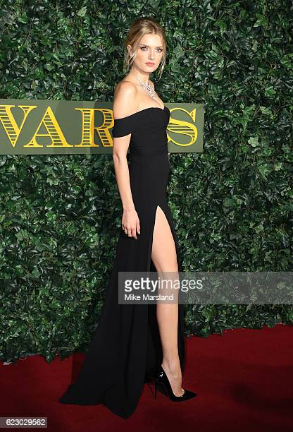 Lily Donaldson attends The London Evening Standard Theatre Awards at The Old Vic Theatre on November 13 2016 in London England