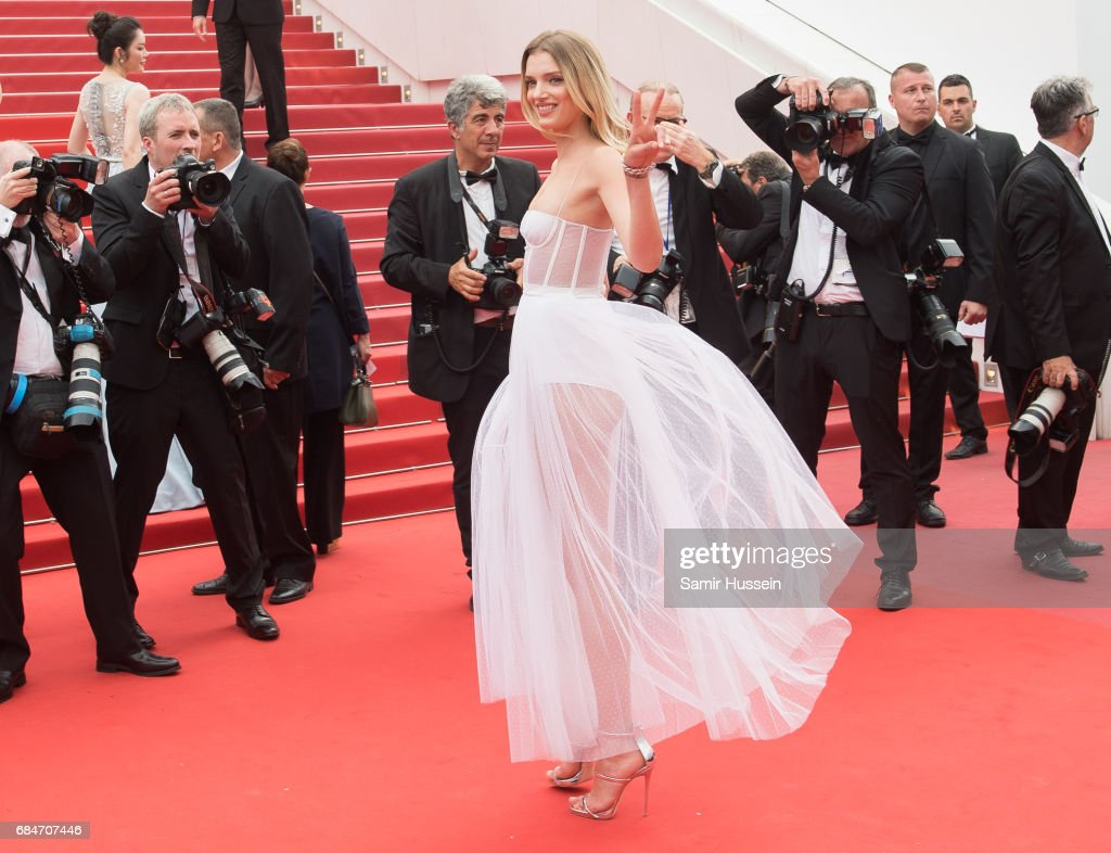 Lily Donaldson attends the 'Loveless (Nelyubov)' screening during the 70th annual Cannes Film Festival at Palais des Festivals on May 18, 2017 in Cannes, France.