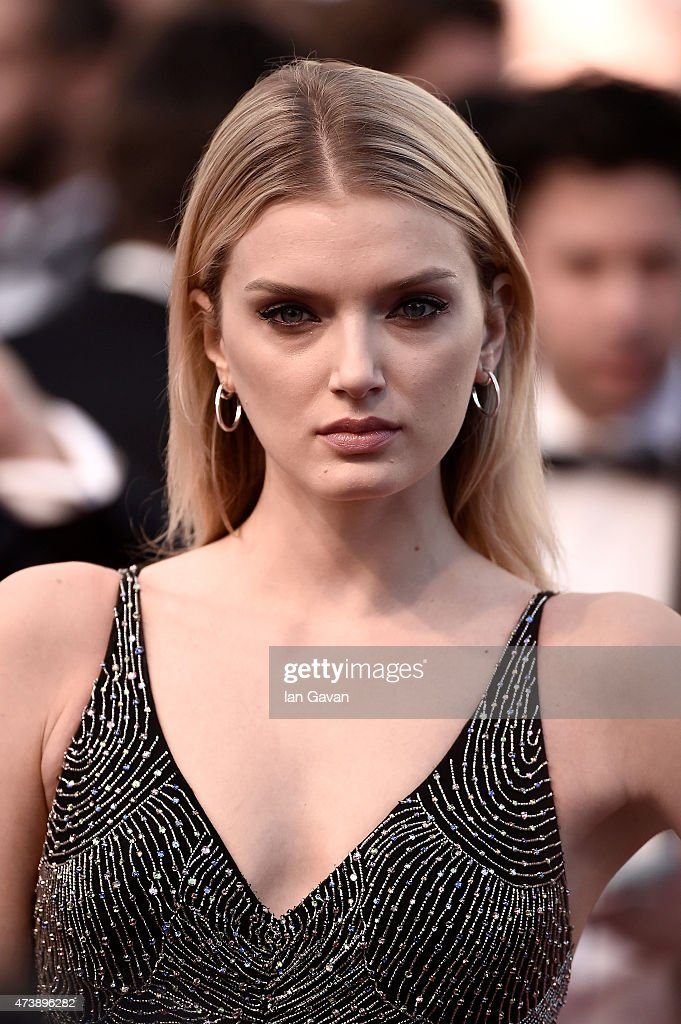 Lily Donaldson attends the Premiere of 'Inside Out' during the 68th annual Cannes Film Festival on May 18, 2015 in Cannes, France.