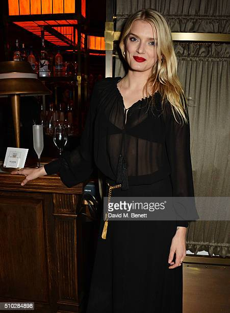 Lily Donaldson attends The Weinstein Company Entertainment Film Distributors Studiocanal 2016 BAFTA After Party in partnership with BVLGARI GREY...