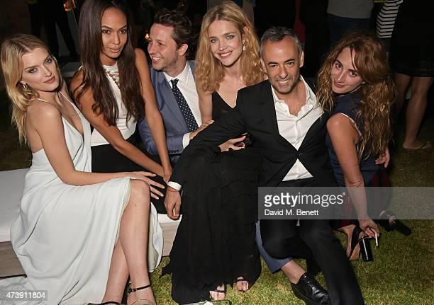 Lily Donaldson Joan Smalls Derek Blasberg Natalia Vodianova Francisco Costa Women's Creative Director of Calvin Klein Collection and Alexia...