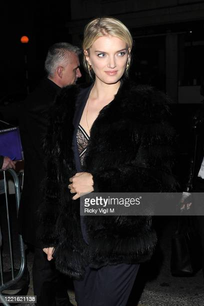 Lily Donaldson seen attending BAFTAs: Weinstein & Grey Goose pre-BAFTAs Dinner at Little House in Mayfair on February 12, 2016 in London, England.