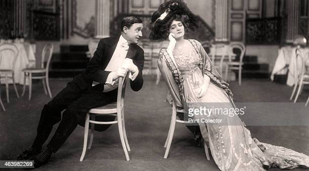 Lily Elsie and Joseph Coyne in The Merry Widow 1907 Elsie and Coyne are playing the parts of 'Sonia' and 'Prince Danilo' respectively