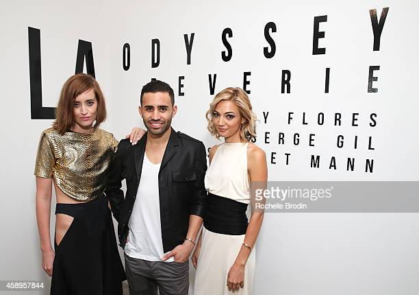 Lily Flores, Scarlet Mann and Serge Gil attend LA ODYSSEY Reverie, Collaboration Shot By Lily Flores, Serge Gil & Scarlet Mann - Hosted By Juliette...