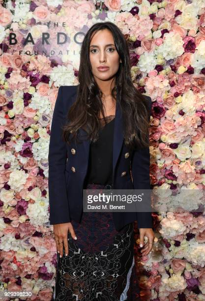 Lily Fortescue attends The BARDOU Foundation's International Women's Day IWD private dinner at The Hospital Club on March 8 2018 in London England