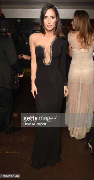 Lily Fortescue attends the The BARDOU Foundation's International Day Of The Girl Gala in support of The Princes Trust at Albert's Club on October 11,...