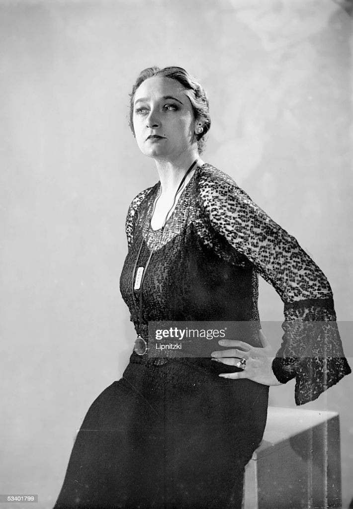 Lily Gauty ( 1908-1994 ), French singer. : News Photo