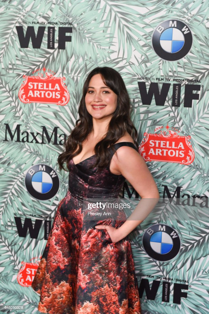 Lily Gladstone attends the 10th Annual Women In Film Pre-Oscar Cocktail Party - Arrivals at Nightingale Plaza on February 24, 2017 in Los Angeles, California.