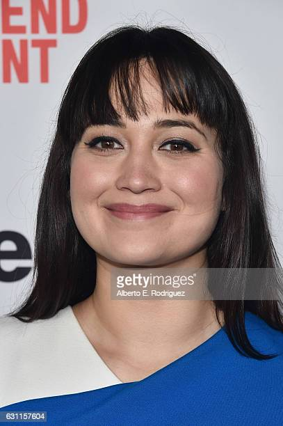 Lily Gladstone attends the 2017 Film Independent Filmmaker Grant and Spirit Award Nominees Brunch at BOA Steakhouse on January 7 2017 in West...