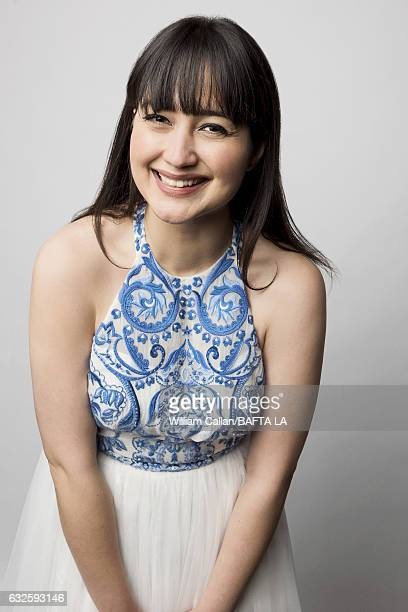 Lily Gladstone poses for a portraits at the BAFTA Tea Party at Four Seasons Hotel Los Angeles at Beverly Hills on January 7 2017 in Los Angeles...