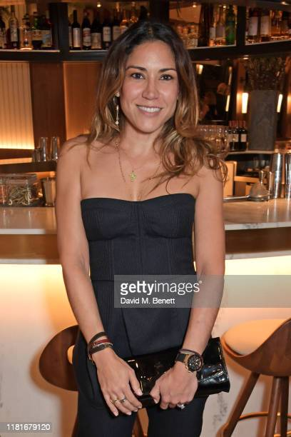 Lily Hodges attends a lunch hosted by Amanda Staveley for 'Wellbeing Of Women', Britain's foremost female health charity investing in pioneering...