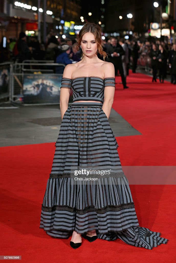 """""""Pride And Prejudice And Zombies"""" - European Film Premiere - Red Carpet"""