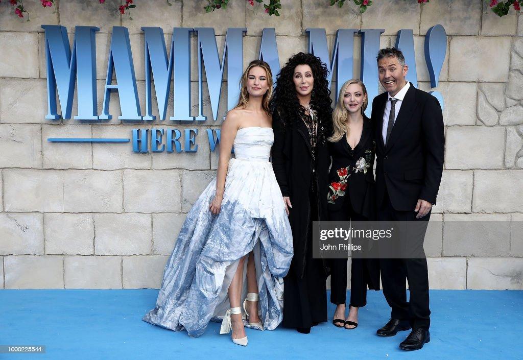 """Mamma Mia! Here We Go Again"" - UK Premiere - Red Carpet Arrivals : News Photo"