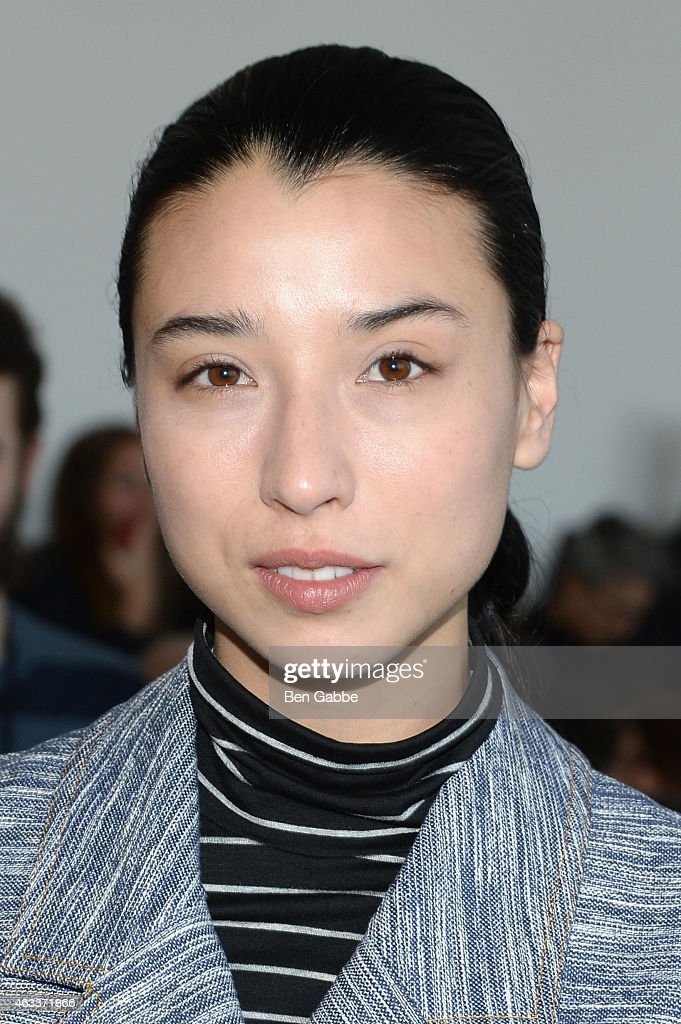 Lily Kwong attends the Jason Wu fashion show during Mercedes-Benz Fashion Week Fall 2015 at Spring Studios on February 13, 2015 in New York City.