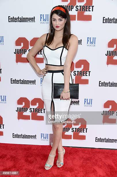 Lily Lane attends the New York screening of 22 Jump Street at AMC Lincoln Square Theater on June 4 2014 in New York City
