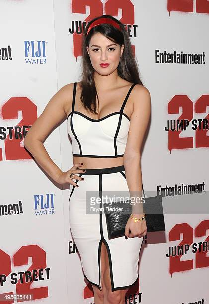 Lily Lane attends the New York screening of '22 Jump Street' hosted by FIJI Water at AMC Lincoln Square Theater on June 4 2014 in New York City