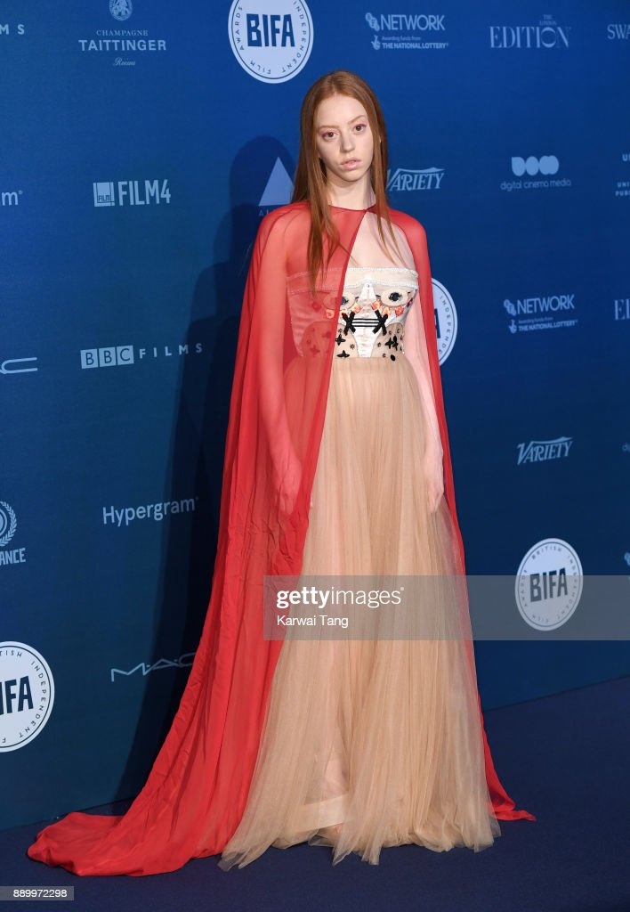 Lily Newmark attends the British Independent Film Awards held at Old Billingsgate on December 10, 2017 in London, England.