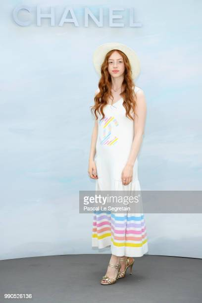 Lily Newmark attends the Chanel Haute Couture Fall Winter 2018/2019 show as part of Paris Fashion Week on July 3 2018 in Paris France